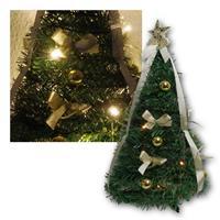 LED Weihnachtsbaum | Lichterkette | Höhe 50cm | Dekoration