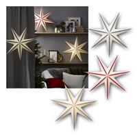 Papierstern Randi  Ø75cm | LED Weihnachtsstern für Innen