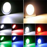 Flache Einbauleuchte in 3 Lichtfarben und 2 Formen