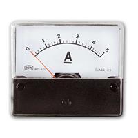 Installation measuring instrument 0-5A DC BLANKO | ammeter
