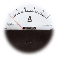 Strommesser, Amperemeter, Einbaumessinstrument