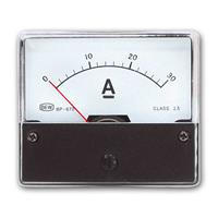 Installation measuring instrument 0-30A DC BLANKO | ammeter