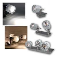 COB LED Deckenstrahler GBA | GU10 | 1-4 Spots | 3/5W, 230V