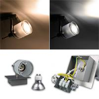 Design LED Wand/Deckenleuchte in warmweiß oder daylight