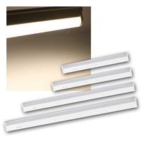 LED cabinet luminaire MERA, daylight | LED light bars 230V