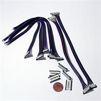 Schnellverbinder für flexible RGB SMD LED Streifen