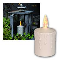 LED outdoor candle with light sensor | LED grave light