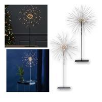 3D-LED-Standstern Firework Weihnachtsstern 120 LEDs warmweiß