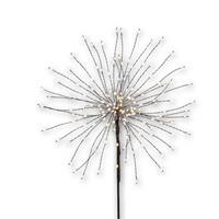 LED Standleuchte, schwarz, Feuerwerk, Hochzeitsdekoration