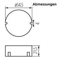 Kurzschluss- und Überspannungsschutz, vormontierten Montagekabel