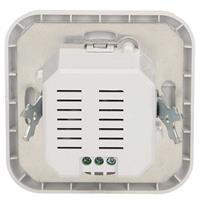 Kunststoff-Gehäuse in weiß, einfache Installation, IP20
