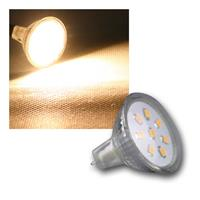 MR11 light | 8 SMD LED | warm white | 12V AC/DC | 2W