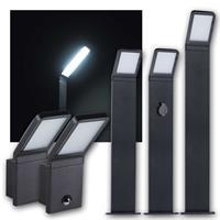 LED Außenleuchte SEVIA | Wand-/ Standleuchte | neutralweiß