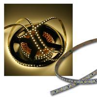 500cm FLEX SMD Streifen 600 LEDs warm-weiß PCBweiß