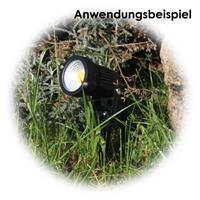 Erdspieß, Schutzkontaktstecker, IP44, Kunststoff