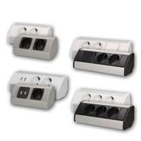 Surface-mounted sockets | Corner sockets | Power strips