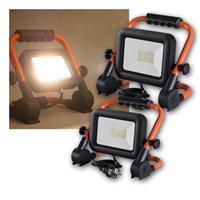 LED construction spotlights | 230V/30/50W | 2700/4500lm