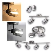 Spotlights EVELI   1/2/3/4-flame   rotatable and pivotab