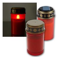 LED grave light | flame effect, on/off switch | LED candle