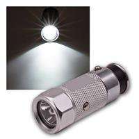 LED car flashlight rechargeable | 2 functions | 12V/0.5W