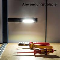 Taschenlampe DEXTER 2, Magnethalterung,Befestigungsclip