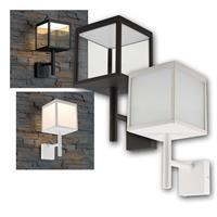 LED outdoor light RAVENNA | LED design lamp in cube shape