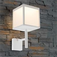 LED Wandleuchte aus hochwertigem Aluminium in weiß