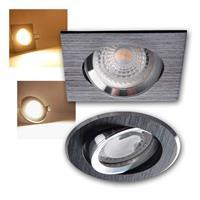 LED recessed light GWEN | aluminum & anodized | square/round