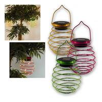 Solar LED light SPRING | yellow / green / pink | Solar | IP4