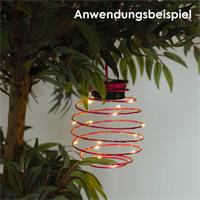 Solar LED Leuchte SPRING, 3 Farben, Deko-Lichterkette