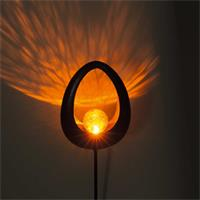 LED Dekoleuchte aus robustem Metall, witterungsbeständig