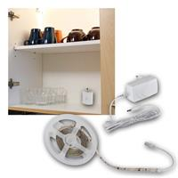 LED light strip set | touch switch| Power supply, warm white
