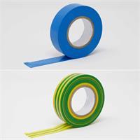 Isolierband, diverse Farben für das Markieren, Kennzeichnen und Bündeln von Kabeln und Leitungen