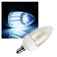 "LED-Strahler ""Candle"" E14 pur-weiß Kerzen-Lampe"