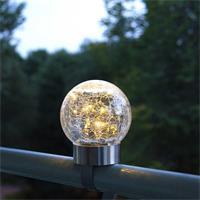 Gartenstecker, Balkonleuchte, Tischlampe, Wegbeleuchtung