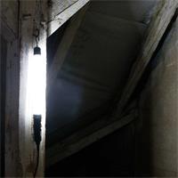 LED Akku-Arbeitsleuchte, IP44. 6000K, 500lm, kaltweiß