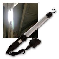 LED Akku-Werkstattleuchte IP44 | 8,5W 500lm | Stablampe