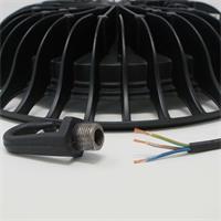 LED Strahler in flacher Ausführung mit Anschlusskabel
