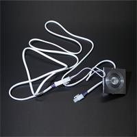 Steckverbinder mit Crimpkontakten für 12V oder 24V mit Arretierung