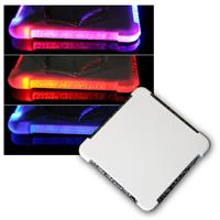 LED color changing glass drink coaster RGB LED's