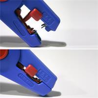 Abisolierer für alle gängigen flexiblen und massiven Leiter