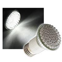LED bulb | E27 | pure white | 60x 4.8mm LED's | 230V