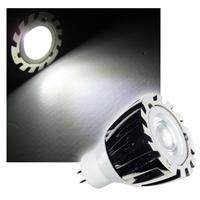 MR11 LED Strahler | 1W Edison LED Chip | pur-weiß | 70lm