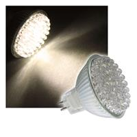 LED-Strahler MR16 warm-weiß 60 x 4,8mm LEDs 12V