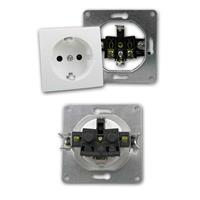 Komponente des Schalterprogramms FLAIR zur UP-Installation in trockenen Räumen