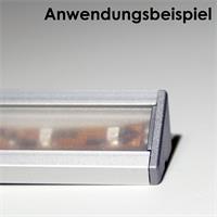 Endkappen aus Kunststoff im 2er Set für Winkel-Profil 60°