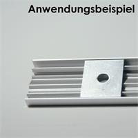 Alu-Halteclips für Aluminium-Profile