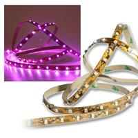 SMD Stripe LED 12V, pink, PCB-brown, 40cm, IP20