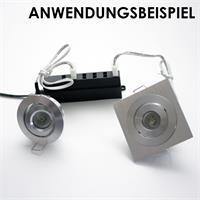 Anschlussverteiler für LED Lichtleisten oder LED Einbaustrahler