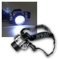 LED acras head light / helmet light with 9 LEDs